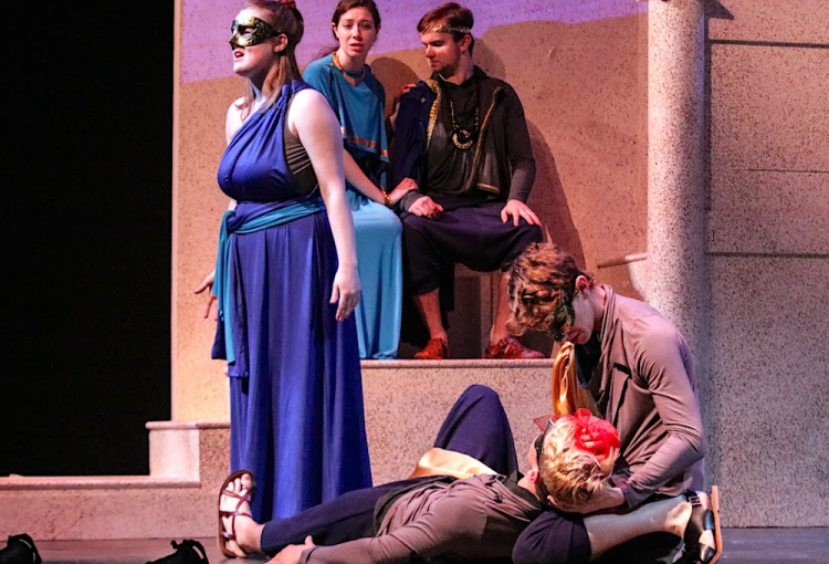 "USM students perform ""Love of the Nightingale"""